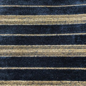 Blue royal blue striped cloth