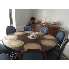Dining table for 10 people