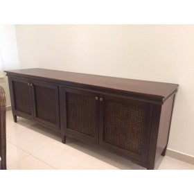 Bamboo buffet table