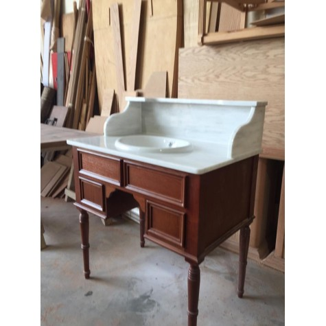 Wooden washbasin