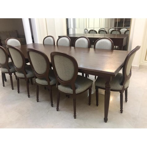 Dining table 10 chairs