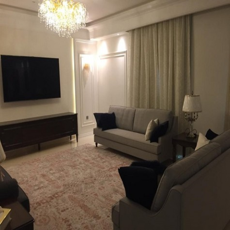 Sofa set with TV table
